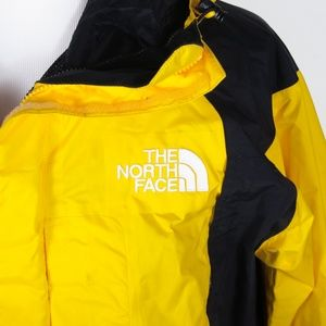 15c63b11a589 The North Face Jackets   Coats - The North Face Gore-Tex Yellow Hooded Shell